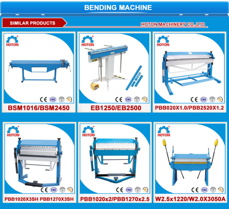 used manual sheet metal bending machine