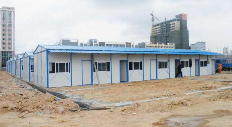 Antiseismatic Fireproof Steel Structure Prefabricated House