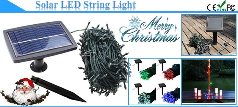 50m 500LEDs/String Solar LED Christmas String