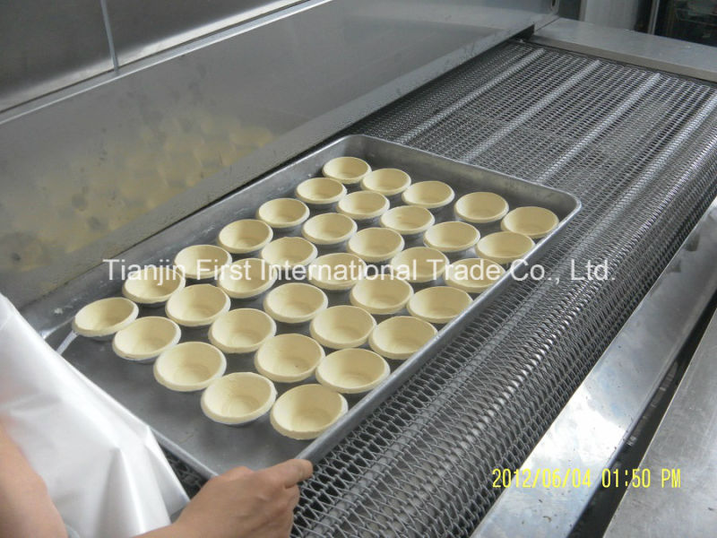 Quick Freezing Equipment IQF Frozen Pizza or Dough Egg Tart