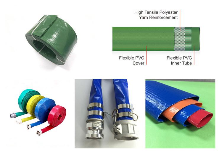 1-16inch High Quaity Reasonable Price PVC Lay Fat Hose