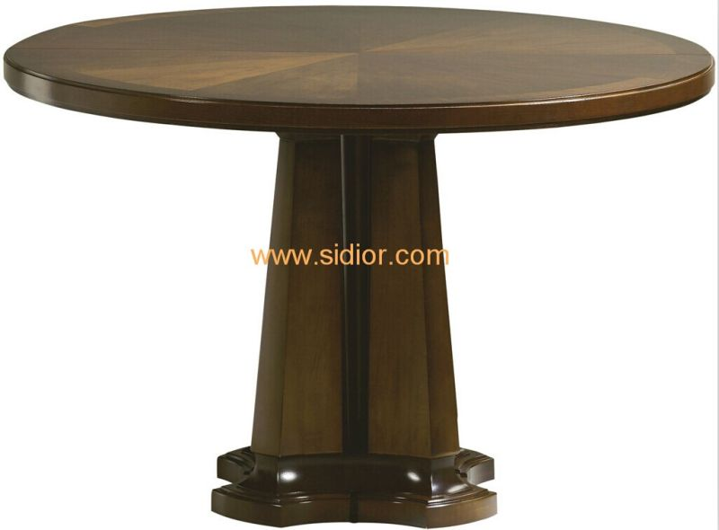 (CL-3317) Antique Hotel Restaurant Dining Furniture Wooden Dining Table