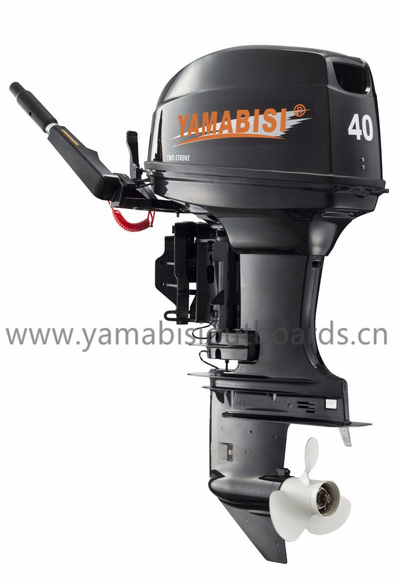 China 2 stroke 40hp yamabisi outboard motor outboard for 2 stroke boat motors