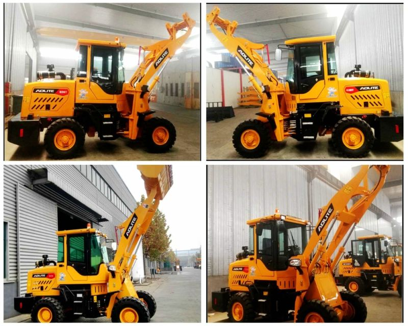 1ton Small Front Wheel Loader for Sale with Best Prices
