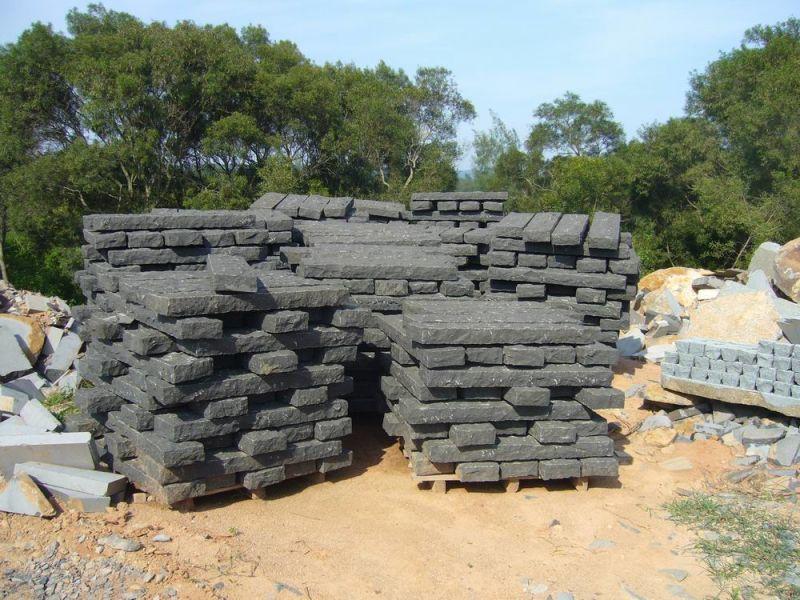 Granito de piedra del adoqu n negro basalto cubo piedra for Piedra de granito precio