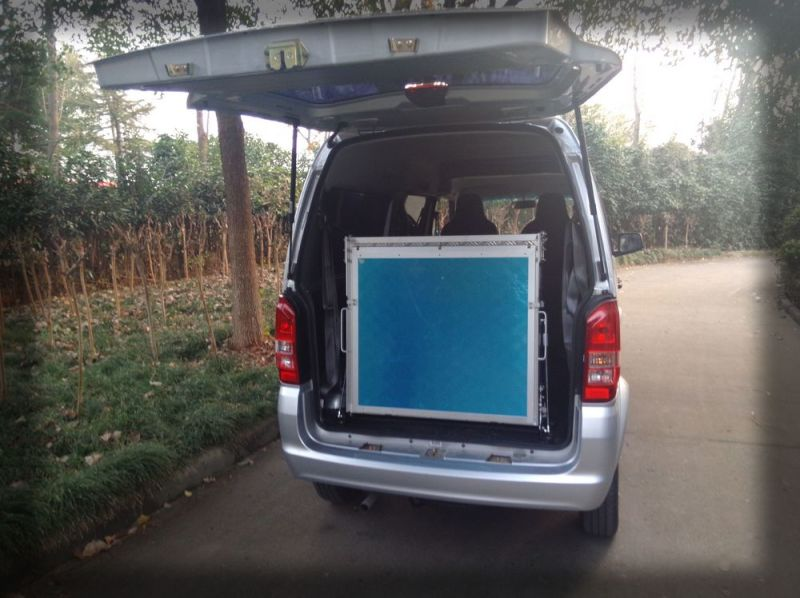 China Aluminium Manual Wheelchair Ramp For Van Bmwr 3