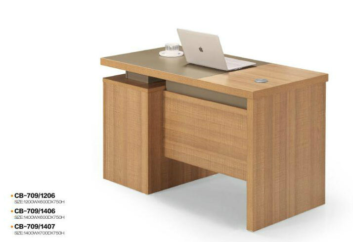 Hot Sale Simple Office Desk With 3 Drawers Cabinet