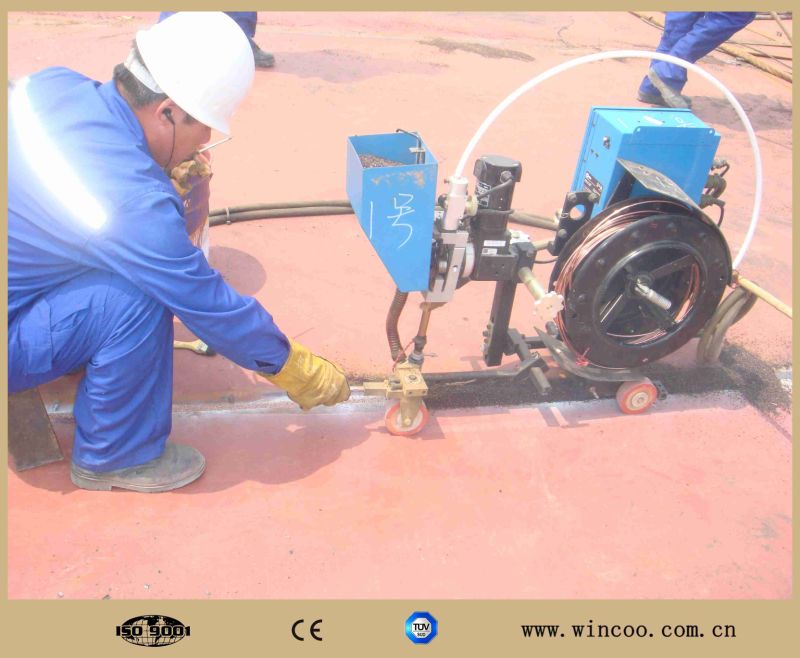 China Automatic Saw Welding Machine Tractor For Base