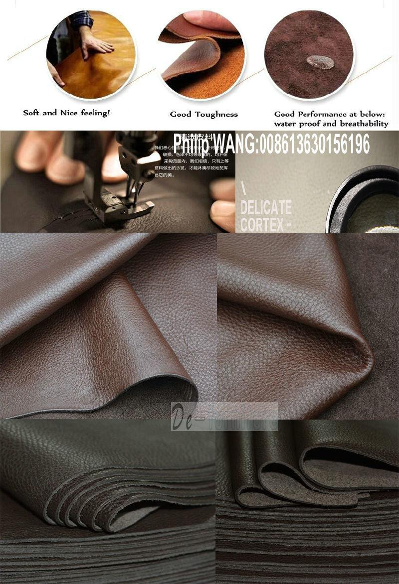 Modern Leather Sofa, Sectional Sofa, Living Room Furniture (951)