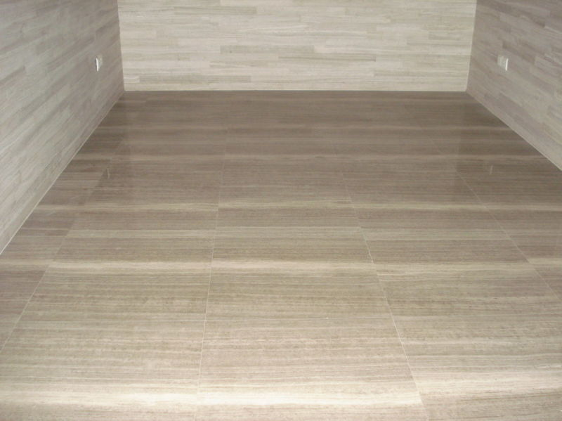 Product Marble Tiles Inlay : Grey wood grain marble tile for floor and wall yqc buy