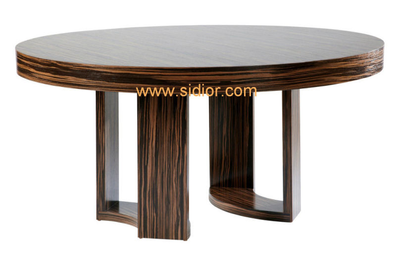 (CL-3310) Antique Hotel Restaurant Dining Furniture Wooden Dining Table