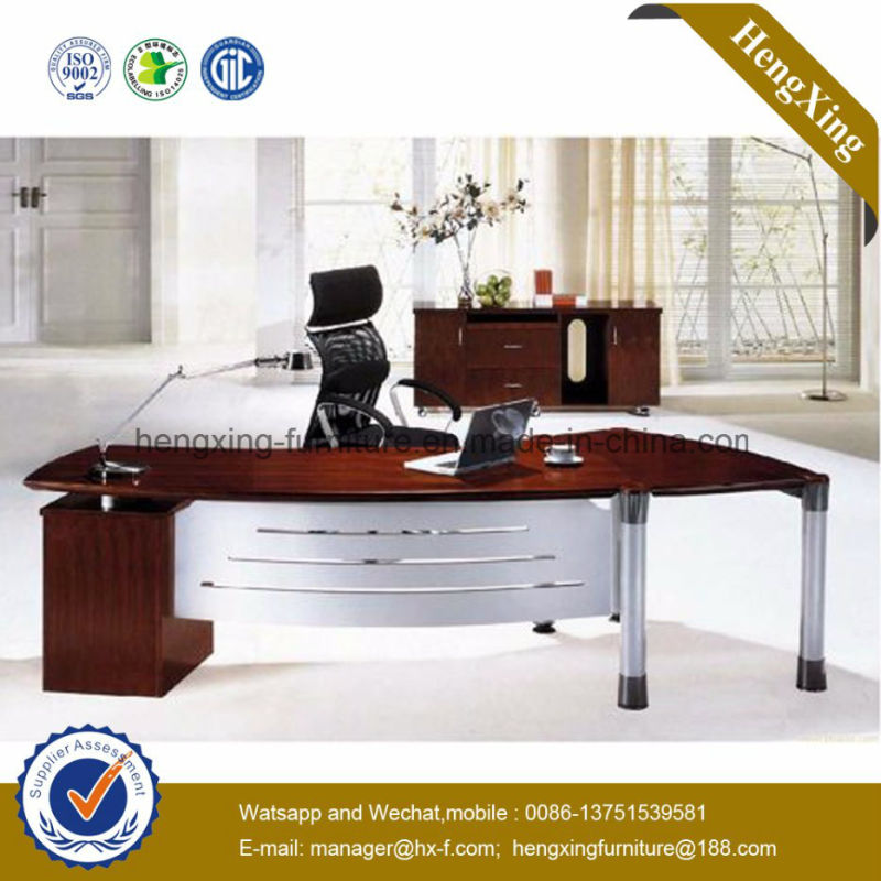 Fashion Office Furniture Metal Legs Melamine Office Desk (NS NW084)