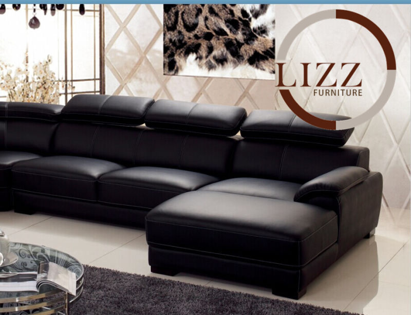 Furniture china furniture manufacturer modern sofa corner sofa - China Otobi Furniture In Bangladesh Price L Shape Leather