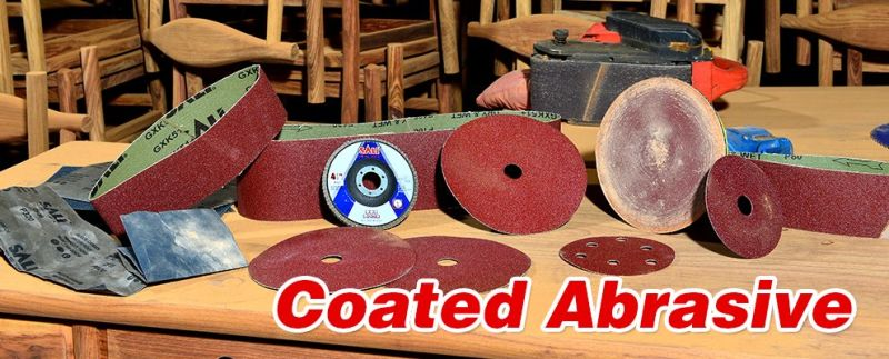Aluminum Oxide Abrasive Metal Sanding Discs for Polishing Wood and Metal