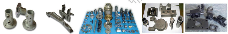 OEM Customized Metal Iron Casting Parts with Drawings or Samples