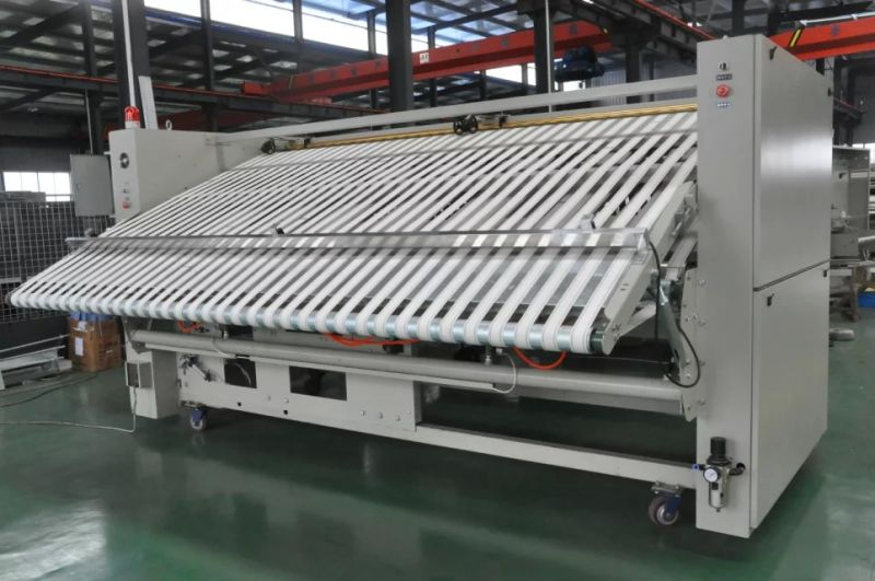 Bedsheet Folding Machine For Hotelhospitallaundry Shop