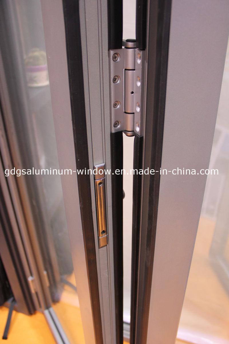 China double glazing exterior interior bi folding panel