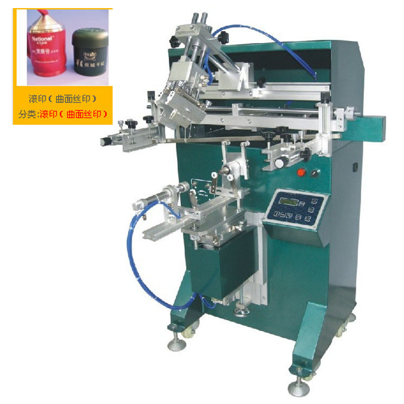 TM-300e Cheap Cylindrical Bottle Screen Printing Machine