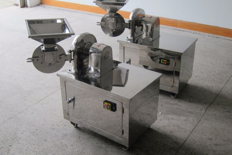 SUS304 Small Lab Pulverizer for Spice/Rice/Flour (WF-180)
