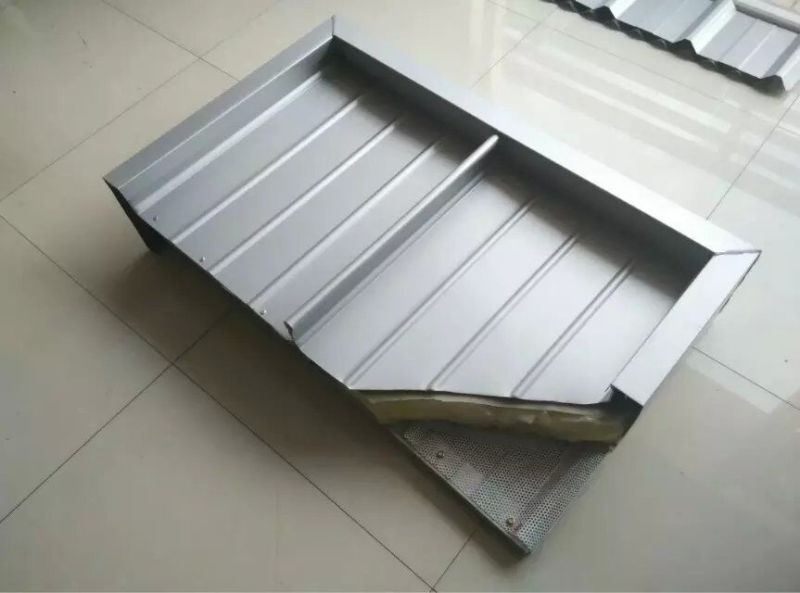 Aluminum Alloy High Standing Seam Metal Roof