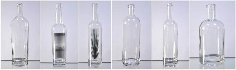 High Clear White Liquor Bottle 750ml (2175)