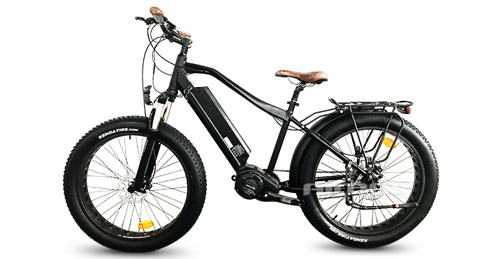 Fat Tire 2017 New Model Bafang Ultra MID Drive System Electric Bicycle 1000W