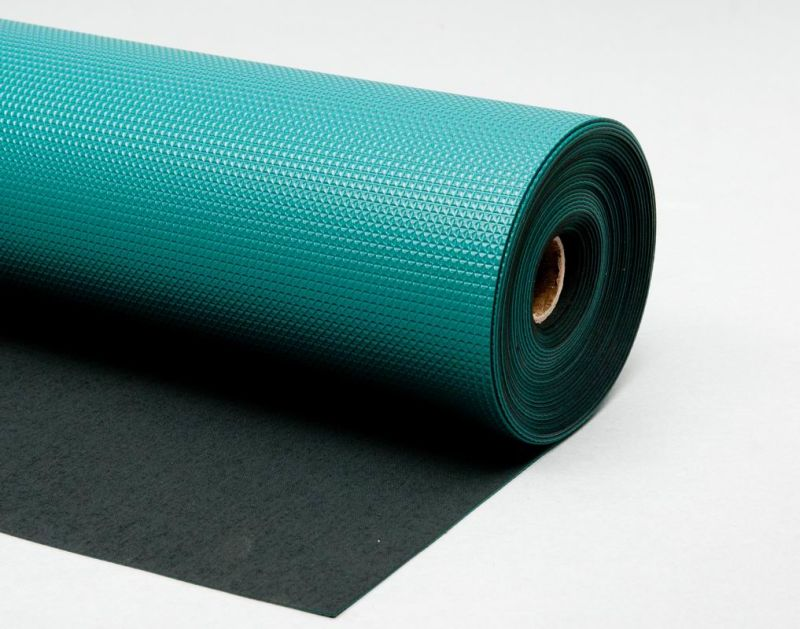 Anti Static Rubber Flooring : China esd anti static and skidding rubber floor mat