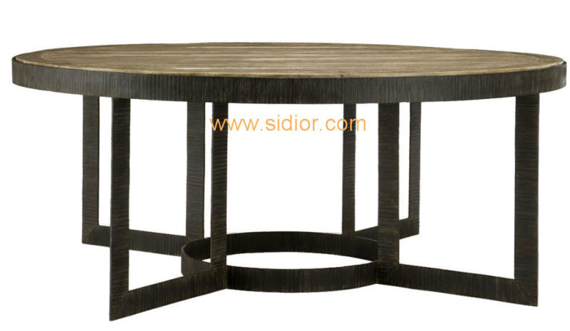 (CL-3311) Antique Hotel Restaurant Dining Furniture Wooden Dining Table
