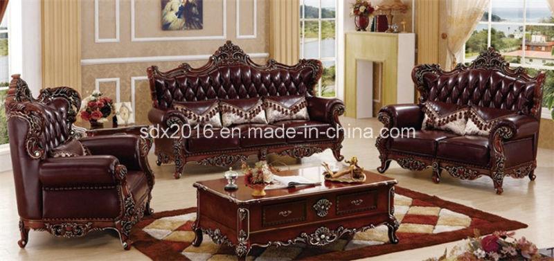 China Antique Living Room Furniture Sofa / High End