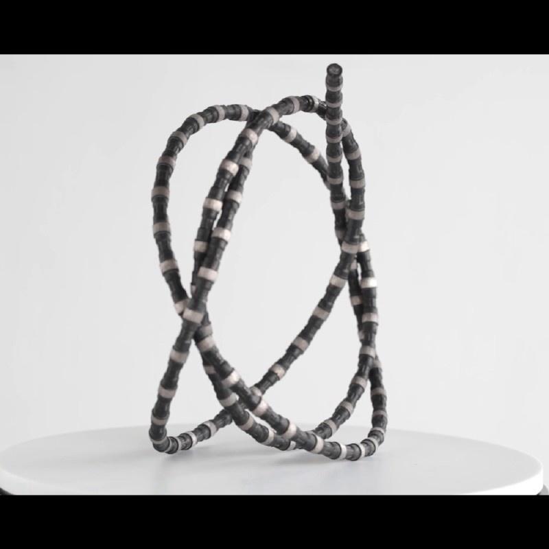 China Diamond Wire Saw for Granite Quarrying-Granite/Marble ...