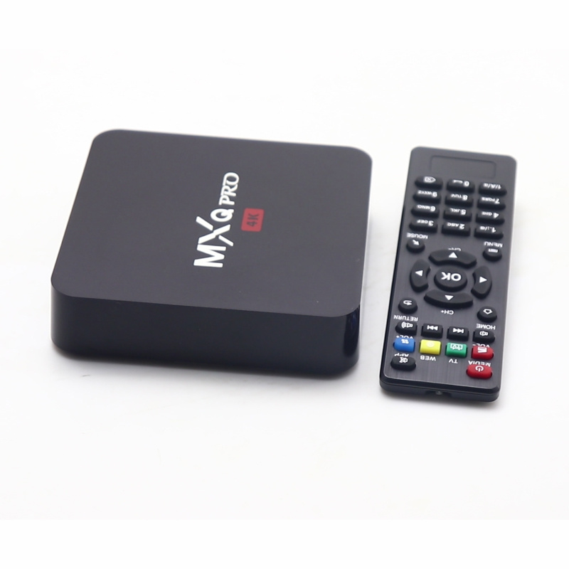 Mxq PRO Smart Android TV Box Amlogic S905W 1GB 8GB Android 4K Video Player Set Top Box WiFi Smart TV Box pictures & photos