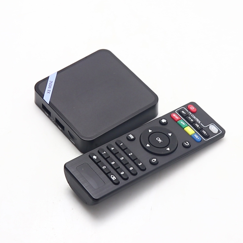 Set Top Box Pendoo X8 Mini S905W Mini Quad Core IPTV Smart Internet Android TV Box pictures & photos