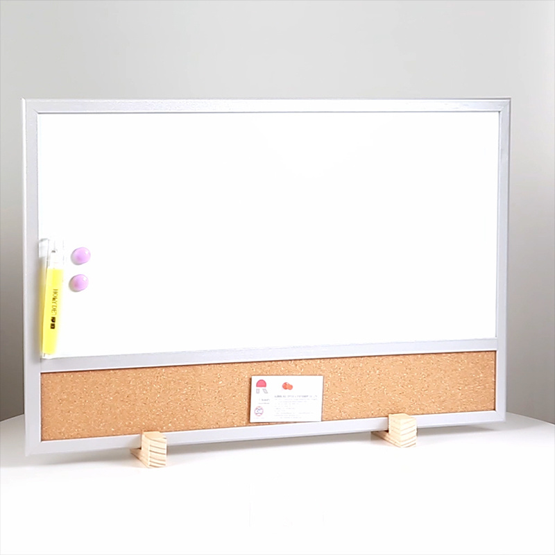 China Combination Magnetic Cork Bulletin Whiteboard with Silver ...