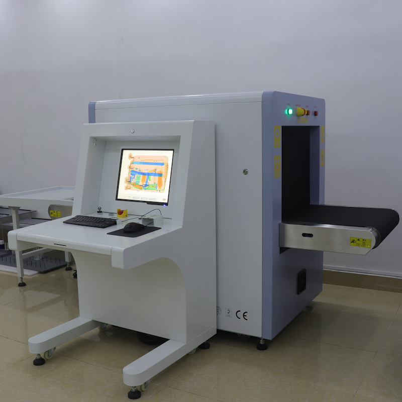Th6550 Dual Energy Middle Size X-ray Baggage and Parcel Inspection Security Screening Scanning Machine - OEM Design with Cheap Price From Biggest Factory pictures & photos