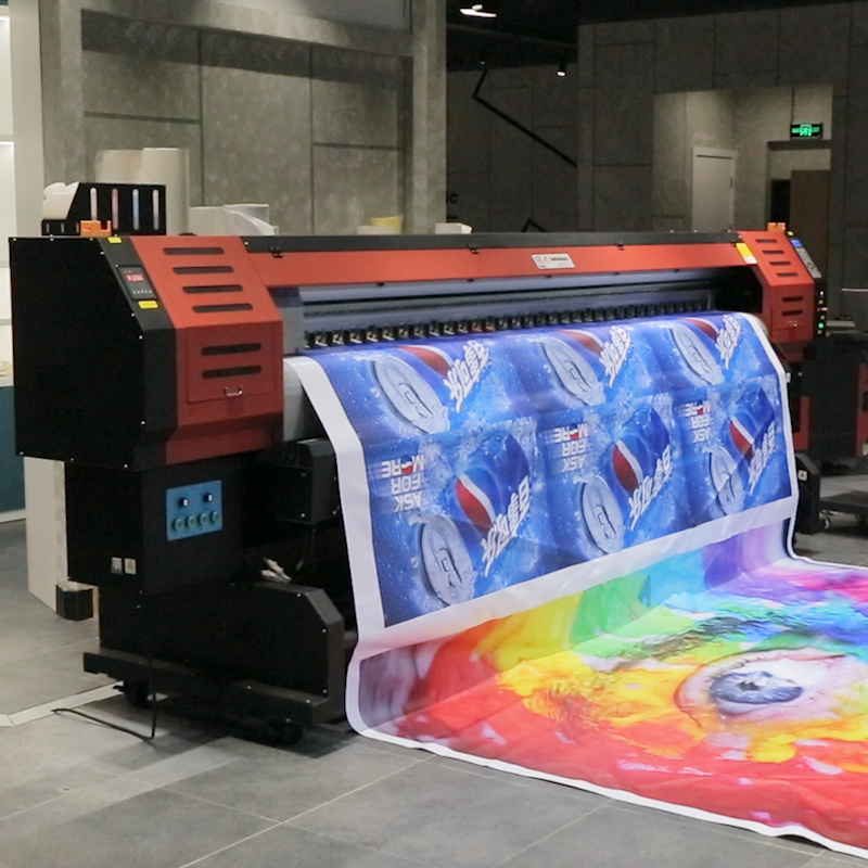 3.2 Meters Large Format Eco Solvent Digital Flex Printing Machine with Original Epson Dx5 Printhead pictures & photos