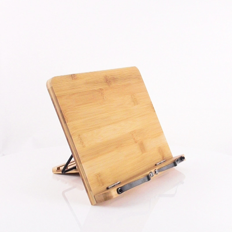 Bamboo Book Stand Reading Rest Holder Cookbook Stand pictures & photos