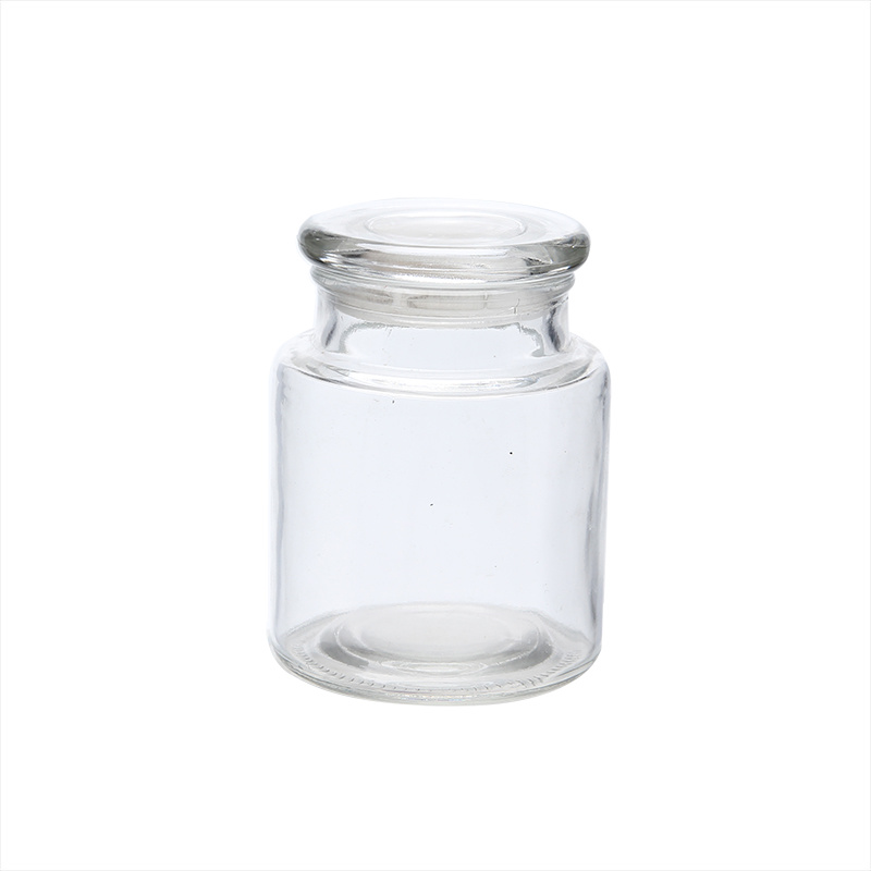 Hermetic Lid Round Type Glass Jars pictures & photos