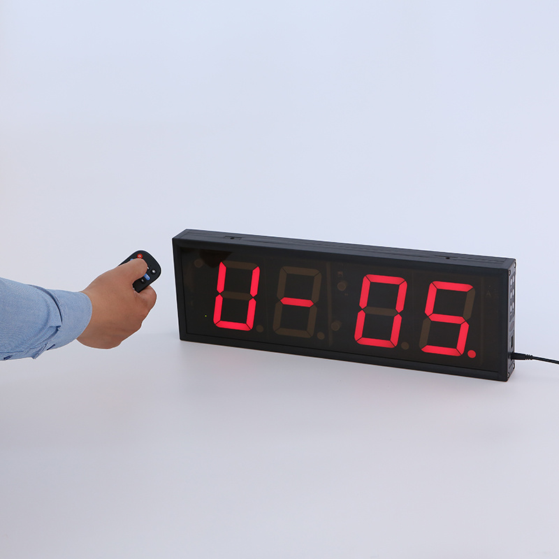 6 Inch 6-Digit LED Digital Timing Clock for Marathon Racing pictures & photos