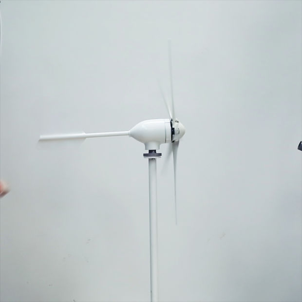 Wind Mill 500W 24V 48V, 3 Phase AC Windmill, Small Power Horizontal Axis Wind Turbine Price pictures & photos