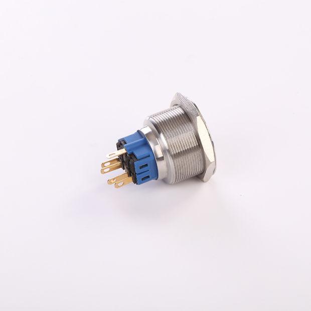 China Hban Ce RoHS (19mm) Flat Round Power Symbol Momentary LED ...