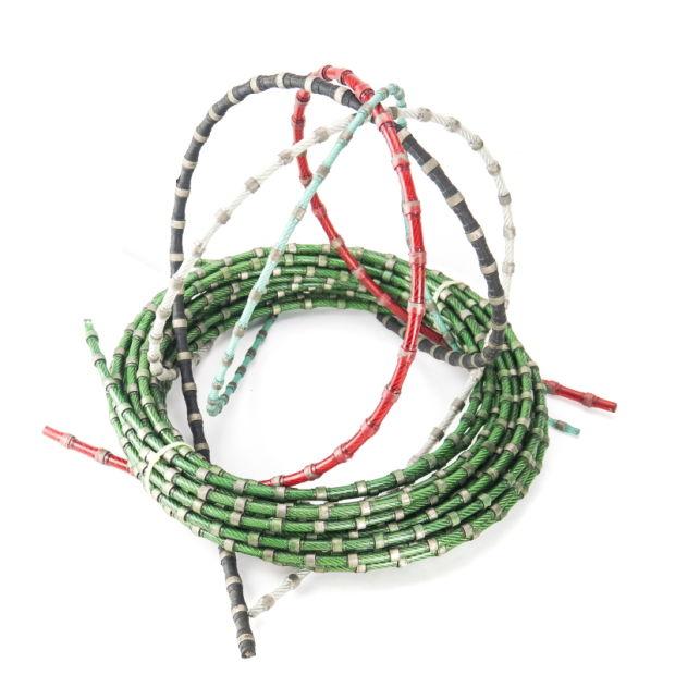 China Diamond Wire Saw Cable for Stone Block Cutting - China Diamond ...