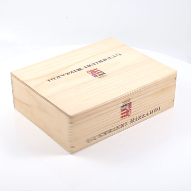China Wooden Wine Box For 6 Bottles Wine 75ml Six Bottle Wooden Gift