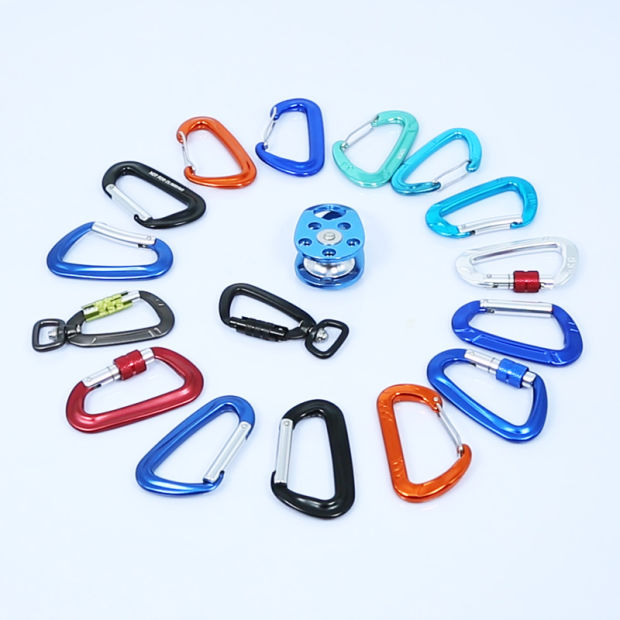 7075 Aluminum 12kn Carabiner for Outdoor pictures & photos