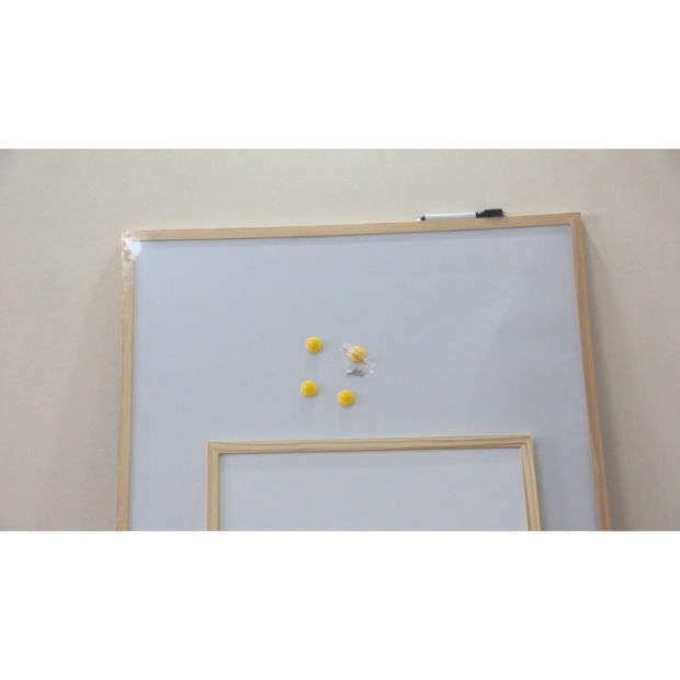 3 Sizes White Boards with Pine Frames