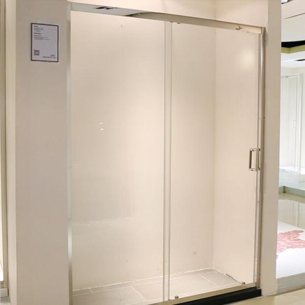 China Quick Installation Adjustable Tempered Glass Shower Enclosure