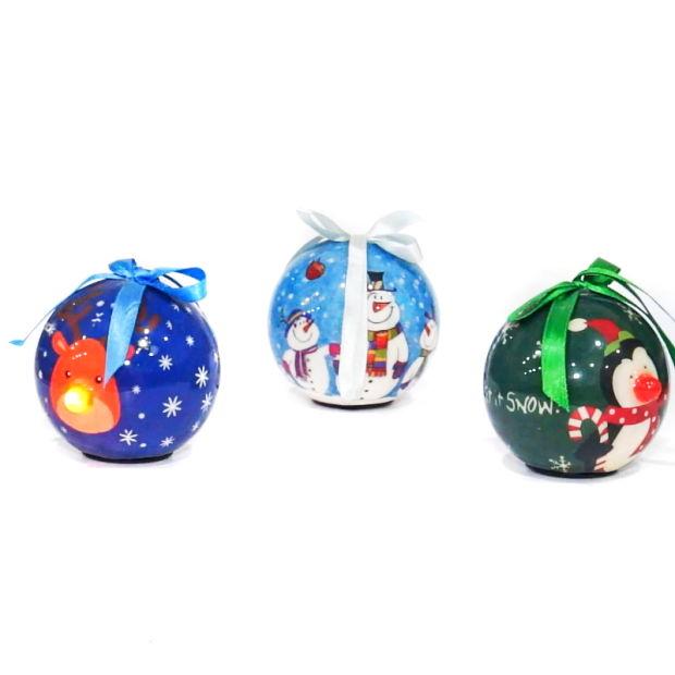 Espuma de Color de la decoración del árbol de Navidad Bolas de ...