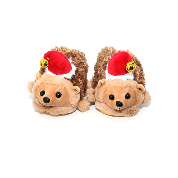 New Women Cotton Slippers Lovely Cherry Warm Plush Indoor Lady Shoes Soft Home Floor Slippers pictures & photos