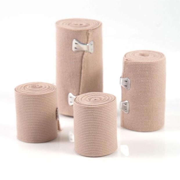 China Skin Color Cotton High Compression Elastic Bandage - China Elastic  Bandage, Bandage