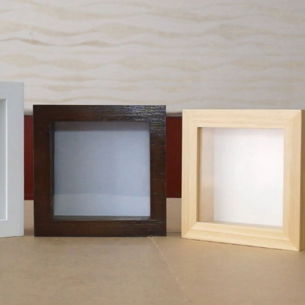 "8"" Deep Square Shadow Box Picture/Photo Frames pictures & photos"