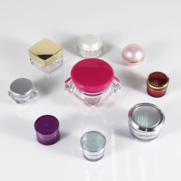 Luxury Cosmetic Cream Jar, Cosmetics Cream Acrylic Jar pictures & photos